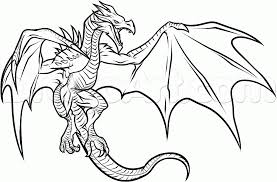 Dragon Head Coloring Pages