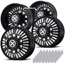22.5 Black Aluminum (Alcoa Style) Roulette Truck Wheel Kit – Buy ... 225 Black Alinum Octane Alcoa Style Truck Wheel Kit Buy Wheels And Rims Online Tirebuyercom 245 Roulette Or Trailer Wheel Rim Polisher On The Truck Polishing Youtube Cheap New Used Tires For Sale Junk Mail Level 8 Tracker Pro Modular Painted Used Sale Fort Lauderdale Fl Dinosaur Tires How To Buy Truck Tires Cheap About Our Custom Lifted Process Why Lift At Lewisville 2017 Ford F250 Xlt 4x4 Diesel For 46135 Worx 803 Beast On 2015 F150 Platinum 37772