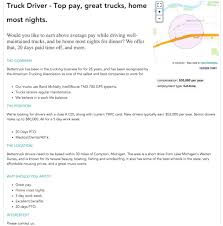 Template: Work From Home Template Job Posting Examples Truck Driver ... Long Haul Truck Driver Job Description Resume And Professional Best Fleets To Drive For 2017 American Jobs Unfi Careers Driver Jobs Highest Paying Driving In Us By Jim Howto Cdl School To 700 2 Years Great Sample Cover Letter Delivery Also Awesome Cdl Cdllife Boyd Bros Transportation Solo Company Trucking In Alabama Home Every Night Resource Choosing The Work Good Restoring Vinny 1949 Schneider Tractor Brought Back Life Flatbed Cypress Lines Inc Testimonials Train