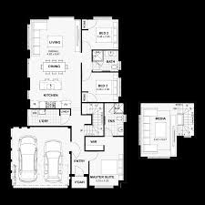 100 10 Metre Wide House Designs Narrow Lot Homes Perth