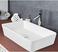 waschbecken eckig badezimmer handwaschbecken