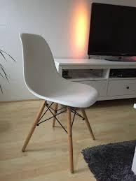 1 8x stühle neu esszimmerstühle im schicken retro design weiß