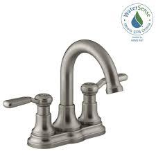 Bathroom Sink Taps Home Depot by Kohler Centerset Bathroom Sink Faucets Bathroom Sink Faucets