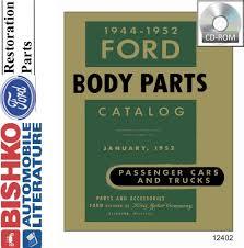 100 Ford Truck Body Parts Amazoncom Bishko Automotive Literature 1944 1946 1948 1950 1952