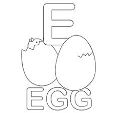 Top 10 Free Printable Letter E Coloring Pages Online