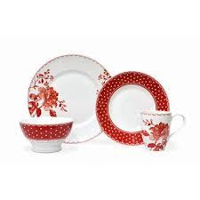 222 Fifth Floral Dot 16 Piece Dinnerware Set Reviews