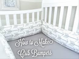 Baby Boy Nursery Part 3 How to Make Crib Bumpers Miss Bizi Bee
