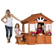 Backyard Discovery Scenic Cedar Playhouse - Toys