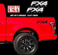 100 Ford Stickers For Trucks Amazoncom 20152019 F150 F250 FX4 Off Road Decals F