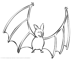 Bat Coloring Pages Printable Me For Kids