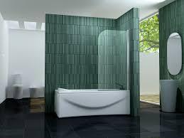80 x 140 one glas badewannen faltwand duschwand
