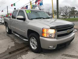 2007 CHEVROLET SILVERADO LTZ - Z71 For Sale In Houston, TX 77011