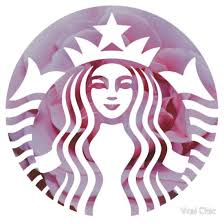 Starbucks Mermaid Pink Petals Logo