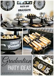 Graduation Decorations 2015 Diy by Graduation Party Ideas U2013 A To Zebra Celebrations