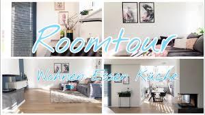 roomtour wohnzimmer küche esszimmer offenes wohnen die siwuchins