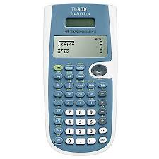 Texas Instruments TI 30XS MultiView Scientific Calculator Blue by