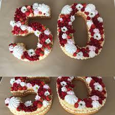 numbercake zum 50 geburtstag geburtstag torte basteln