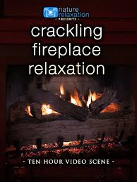Amazon Crackling Fireplace Relaxation 10 Hour Video Scene