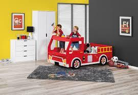 100 Kids Fire Truck Bed Freddy Engine Single Amart Furniture Boys Bedroom