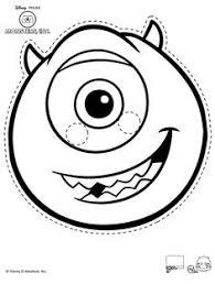 Monsters Inc Mike Wazowski Pumpkin Carving by Disney Pixar Mike Monsters Inc Free Halloween Pumpkin Carving
