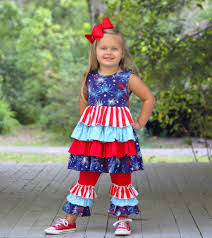 fireworks ruffle boutique girls boutique clothing u2013 rylee