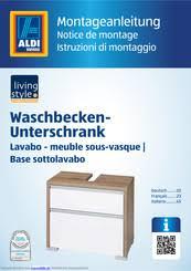 living style waschbecken unterschrank montageanleitung pdf