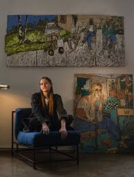 100 Andrew Morrison Artist Hack The Frieze Los Angeles Art Fair This Painter Says Shes Done