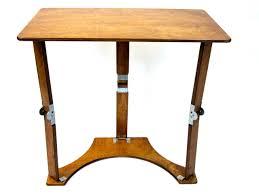 spiderlegs ld1527 wo light walnut oak color wooden folding laptop