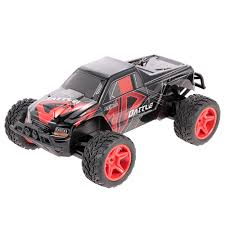 100 Monster Truck Rc WLtoys L219 24GHz RC Car 2WD 110 30KMH Brushed Electric Cars RTR