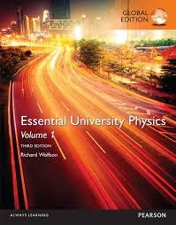 Pearson 9781292102658 Essential University Physics Volume 1 Global Edition