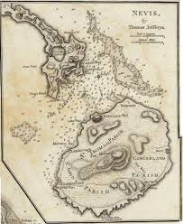 1775 Map Of Nevis