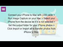 How Do You Transfer s From Iphone To Macbook