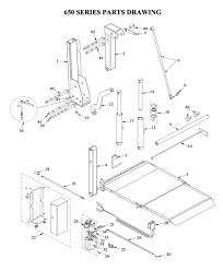 Liftgate Diagrams - Tommy Gate Liftgate Parts & Diagrams - Shop ITE ...