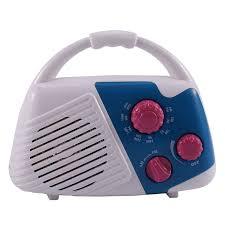 wasserdichtes am fm radio duschradio mit lautsprecher für