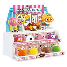 Amazoncom Pororo Ice Cream Shop Play Set Scoop And Stack Ice