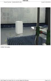 Intertek Ceiling Fan And Light Wall Control by Tx47 Remote Control For Ceiling Fan Test Report Emc Hunter Fan Company