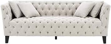 casa padrino luxus chesterfield wohnzimmer sofa mit 4 kissen