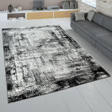 design teppich wohnzimmer abstraktes muster shaggy teppich