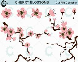 Japanese Cherry Blossom Bathroom Set by Cherry Blossom Etsy