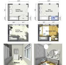 Small Master Bathroom Layout by 100 Master Bathroom Design Plans Small Bathroom Floor Plans