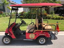 100 Fire Truck Golf Cart The Vitalia Neighborhood Has A New Engine In Town