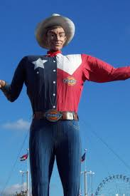 Big Tex Fired At The State Fair Of Texas