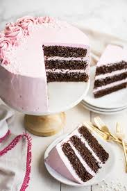 LOVED This Moist And Fluffy Chocolate Cake The Raspberry Buttercream Was So Light