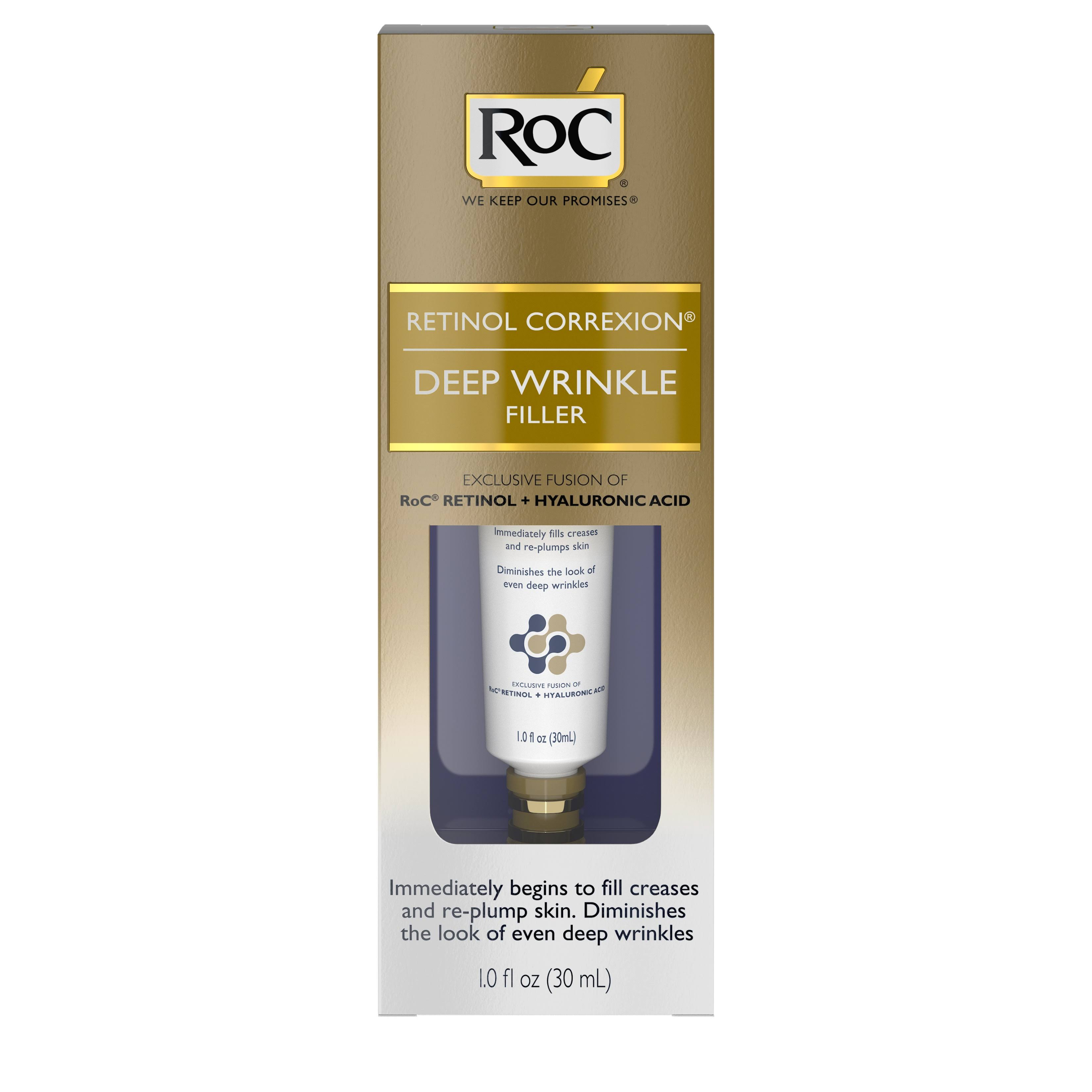 Roc Retinol Correxion Deep Wrinkle Facial Filler - 1oz