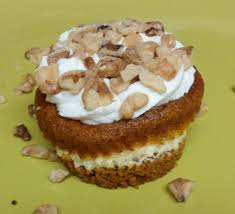 Carrot Cake Cheesecake Cupcakes with Mascarpone Whipped Cream