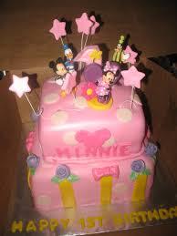 Minnie Mouse and Friends Cake Custom Cakes Virginia Beach