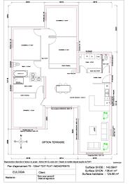 plan maison contemporaine plain pied 3 chambres maison ossature bois contemporaine plain pied 125 m2