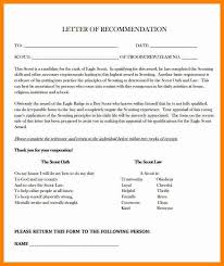 Eagle scout letter of re mendation sample from parents good photo