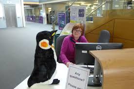 uoplibrary penguin uoppenguin twitter