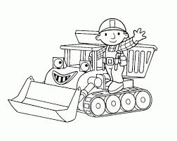 Free Printable Bob The Builder Coloring Pages For Kids Within Elegant